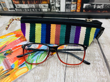 Load image into Gallery viewer, Cotton Pencil Case / Glasses Case - Multiple Colours