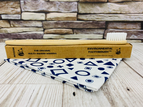Bamboo Toothbrush - Medium (Multi-Buy Deals)