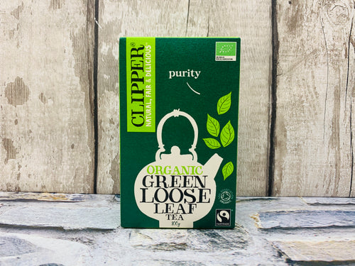 Organic Green Loose Tea (100g)