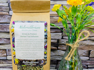 'Stress and Protect' Herbal Tea Infusion