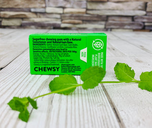 Natural Chewing Gum - Spearmint