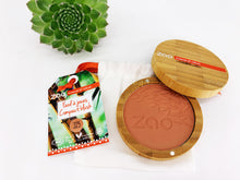 Load image into Gallery viewer, Zao Blush Compact with Refillable Bamboo Case Golden Coral (325)
