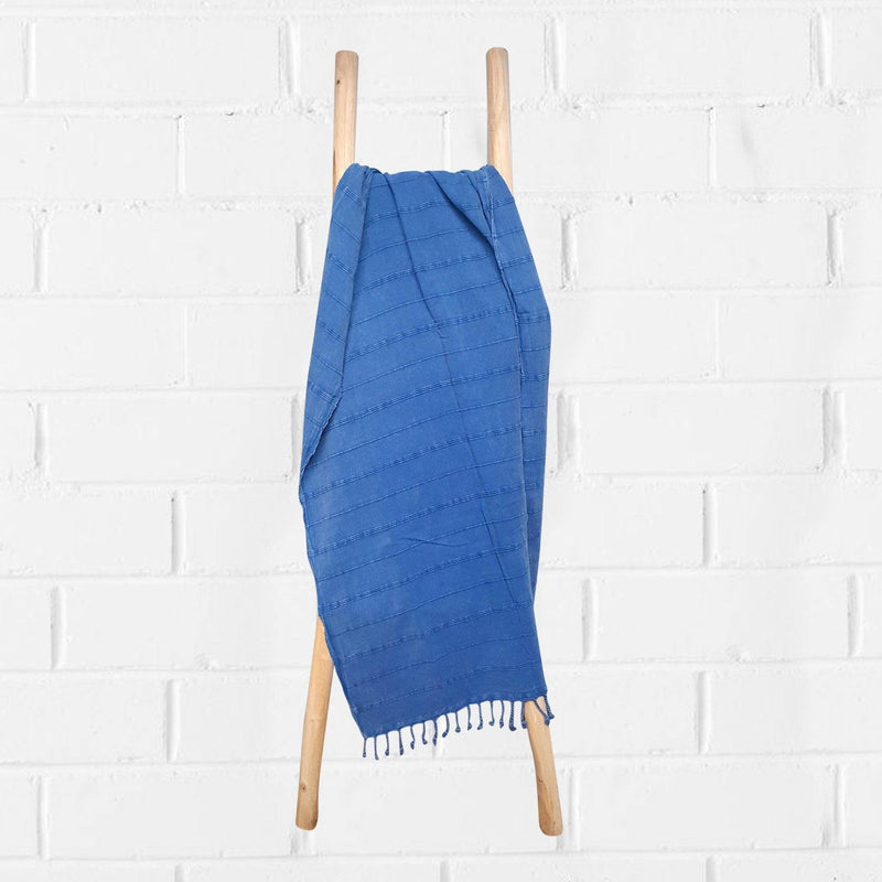 Hammam Towel | Stone Washed | Blue