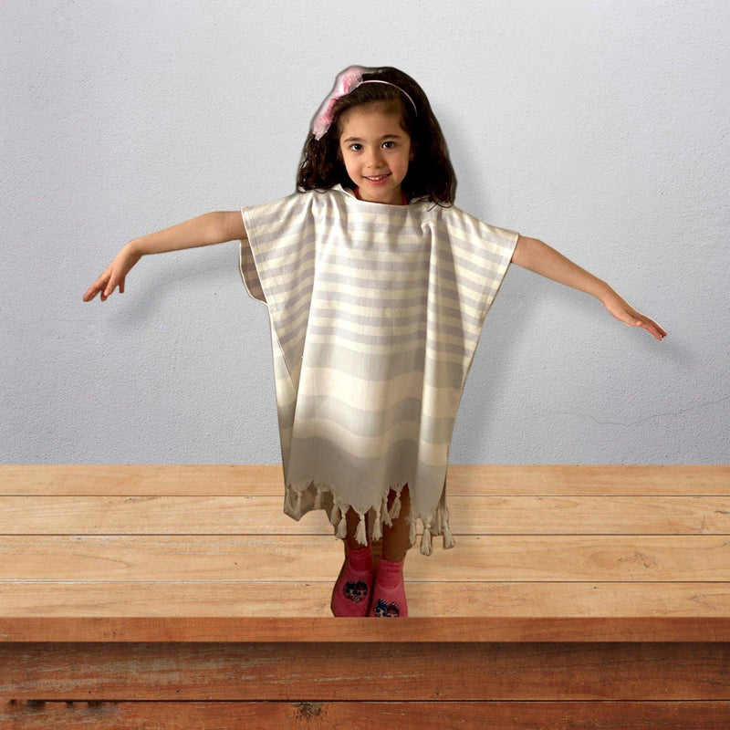 Kids Beach Poncho - Lilac - Trimita