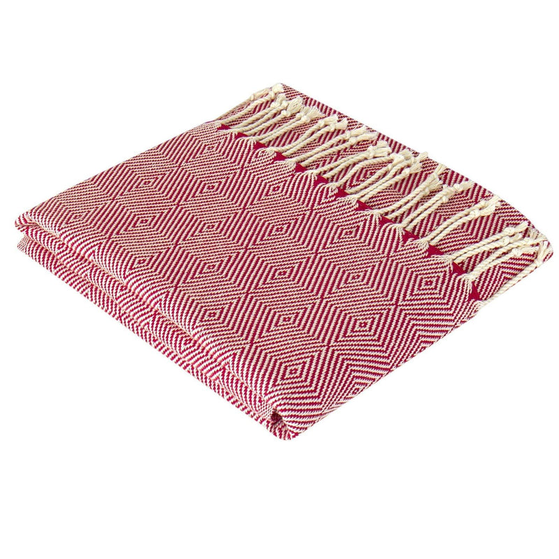 Lykos Hammam Towel | Red - Trimita