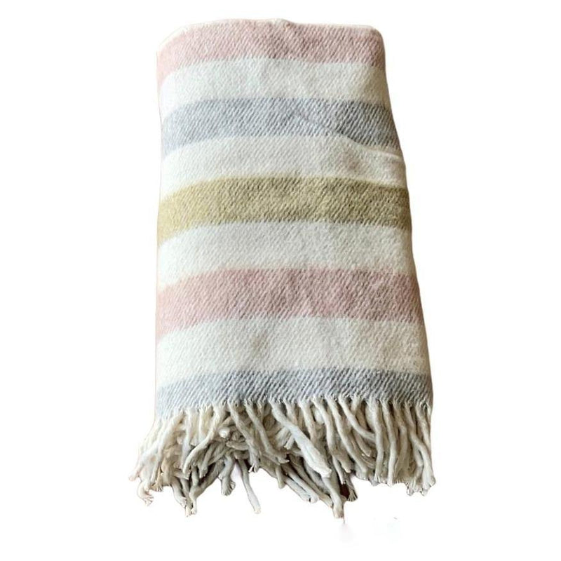Throw Blanket | Striped | 130x170 cm