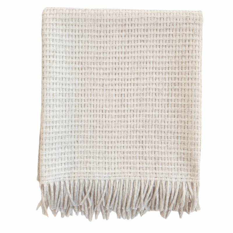 Wool Throw Blanket - Trimita