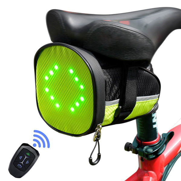 ECEEN LED Cycling Under Seat Saddle Bag