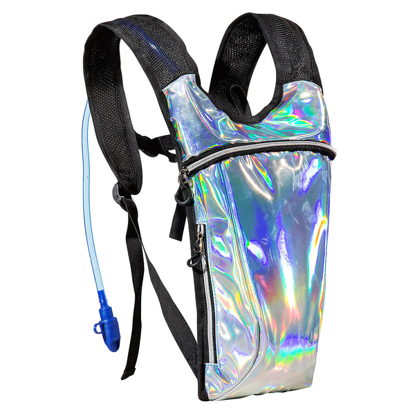 ECEEN Rave Backpack with 2L Water Bladder Bag - ECEEN Solar Charger Backpacks & Led Signal Bags