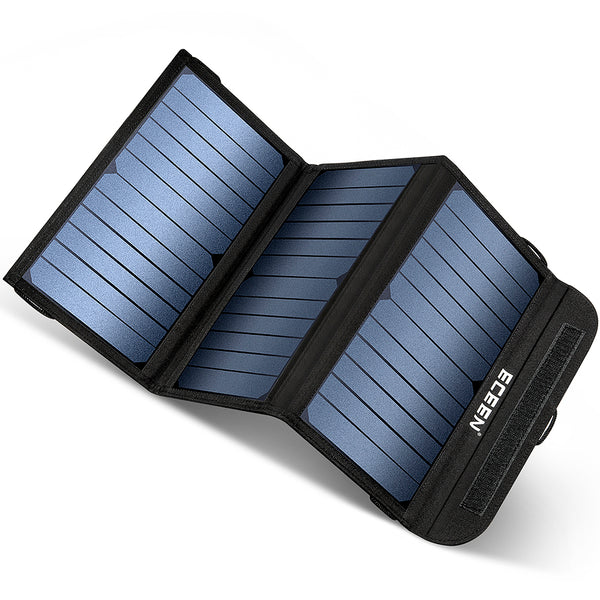 ECEEN 20 Watts Foldable Solar Panel Charger - ECEEN Solar Charger Backpacks & Led Signal Bags