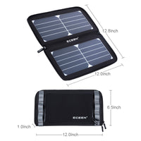ECEEN Folding Solar Panel Charger for Cell Phones - ECEEN Solar Charger Backpacks & Led Signal Bags