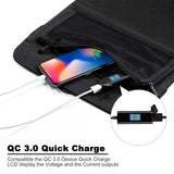 ECEEN 28 Watts QC3.0 Quick Charge Solar Charger - ECEEN Solar Charger Backpacks & Led Signal Bags