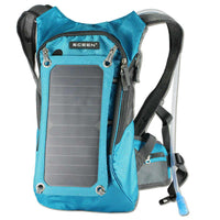 ECEEN Solar Hydration Backpack with 7 Watts Solar Phone Charger - ECEEN Solar Charger Backpacks & Led Signal Bags