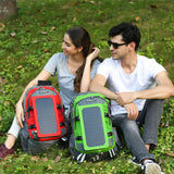 ECEEN Solar Bag with 7 Watts Solar Panel - ECEEN Solar Charger Backpacks & Led Signal Bags