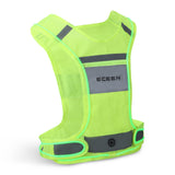 ECEEN LED Reflective Running Vest