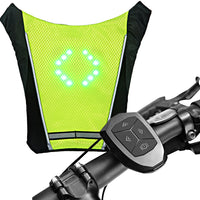 ECEEN LED Turn Signal Vest Bike Pack - ECEEN Solar Charger Backpacks & Led Signal Bags