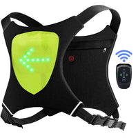 ECEEN LED Flashing Vest and Cycling Stop Light - ECEEN Solar Charger Backpacks & Led Signal Bags