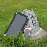 ECEEN 7W Solar Charger Panel with USB Outlets - ECEEN Solar Charger Backpacks & Led Signal Bags