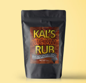 Limited Edition Kal's Kickin' Rub: Smoky Sweet BBQ 2oz
