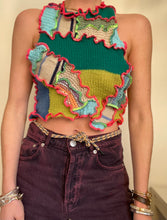 Load image into Gallery viewer, MIXED TEXTURE KNITTED TANK TOP