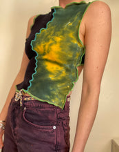 Load image into Gallery viewer, MIXED TEXTURE TANK TOP WITH TIE BACK