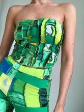Load image into Gallery viewer, MIXED TEXTURE TIE BACK BANDEAU