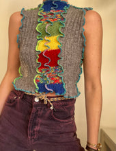 Load image into Gallery viewer, MIXED KNIT TANK TOP
