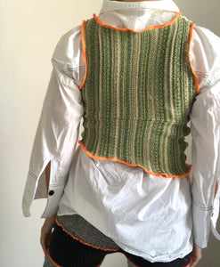KNITTED SWEATER VEST