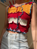 Load image into Gallery viewer, MIXED TEXTURE TANK TOP