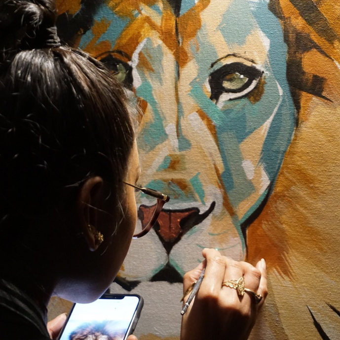 Live Painting at Thunderbird Music Hall