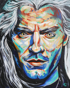 THE WITCHER, GERALT OF RIVIA