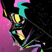 Colorful Darth Vader