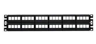 Kit de rack organizador de cable Panduit, 45UR modular de hasta 48 nodos