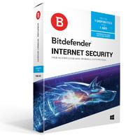 BITDEFENDER INTERNET SECURITY, 1 USUARIO