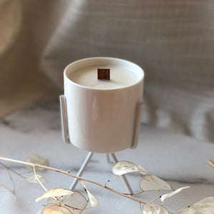 Coconut Wax Candle Stand Planter - Medium