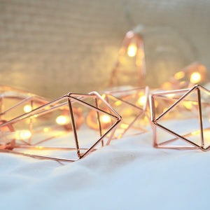 Diamond Cage Fairy Lights