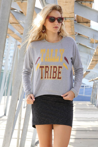 """TALLY TRIBE"" Sweater"