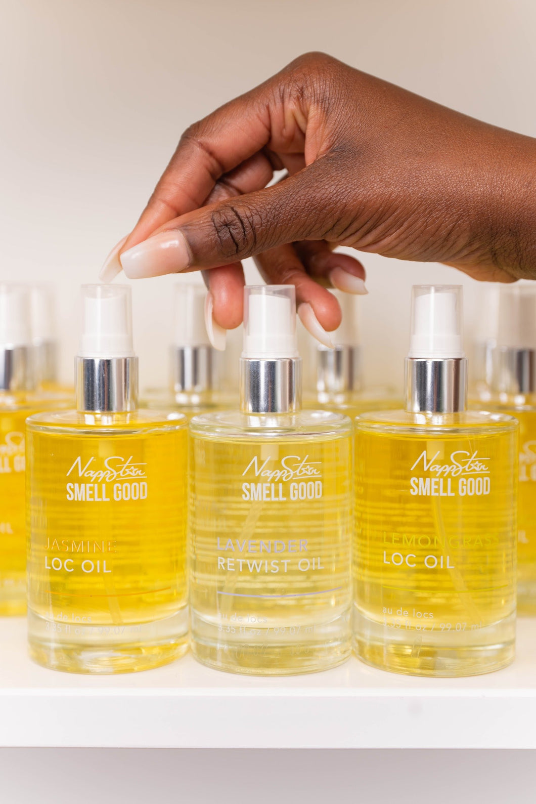 Smell Good Loc Oil - Lemongrass (Limited Edition)