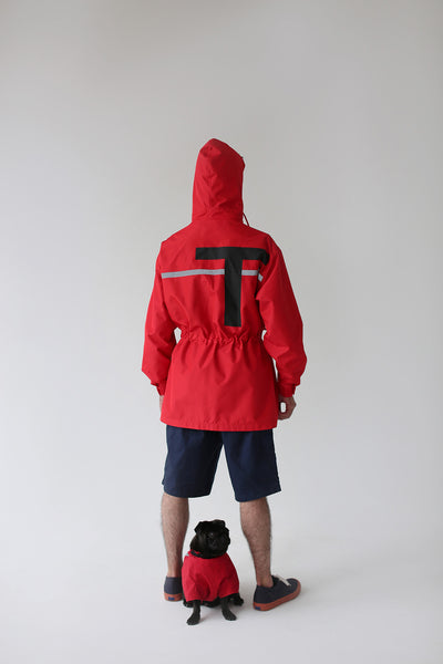 Una Terra Jacket with Hood&Waterproof Dog Vest