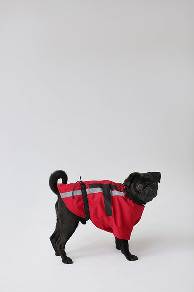Una Terra Waterproof Dog Vest Made of Recycled Polyester