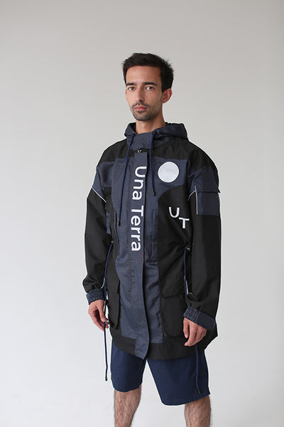 Una Terra Waterproof Jacket with Hood