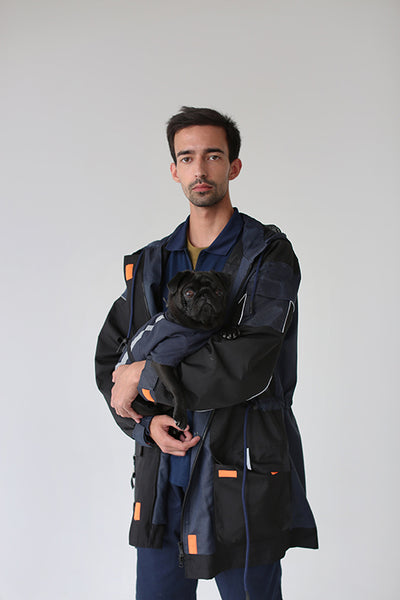 Una Terra Waterproof Jacket with Hood & Waterproof Dog Vest