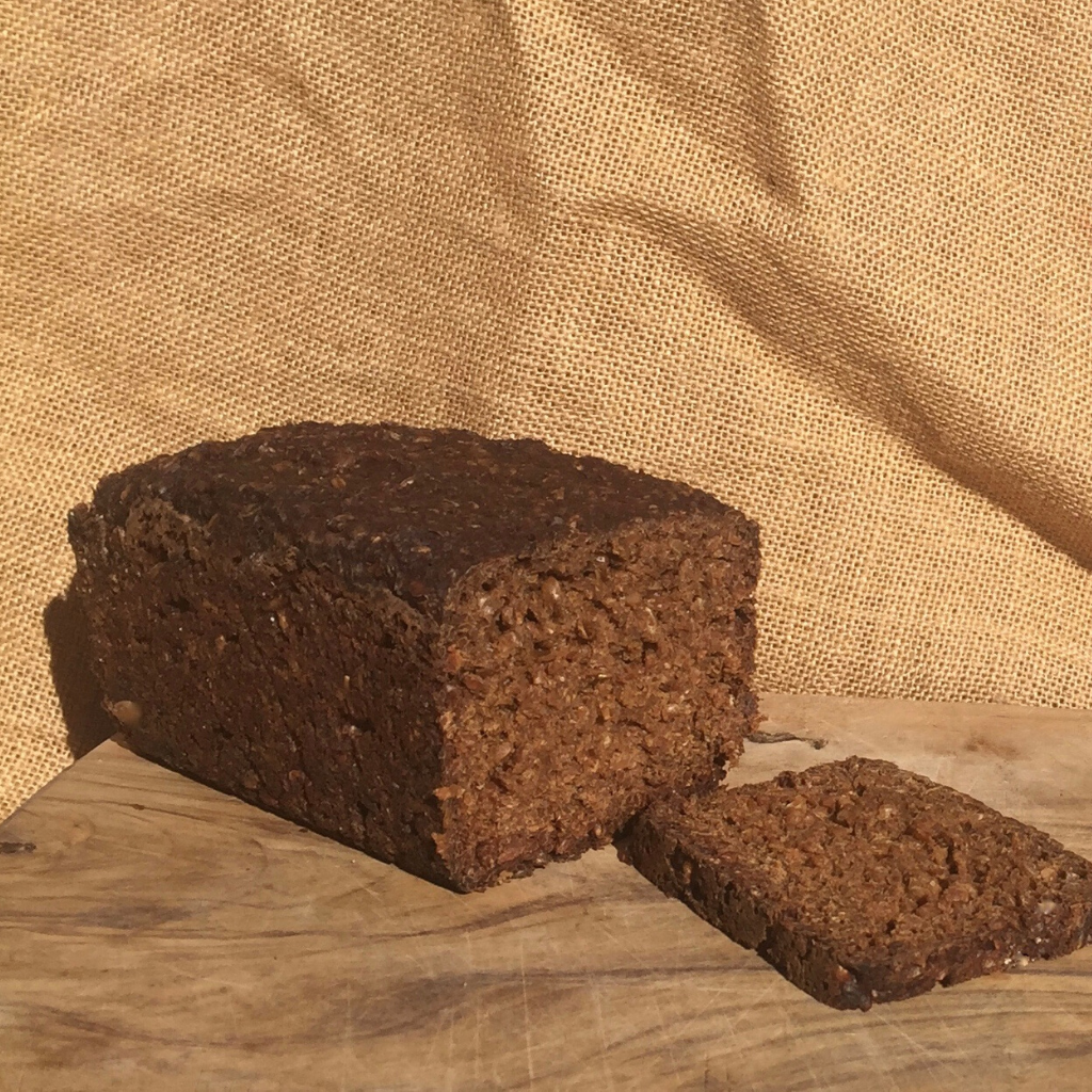 Sprouted Grains/ Pumpernickel Sourdough - 100% certified organic