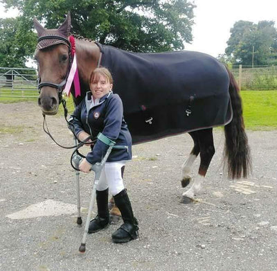 Para Rider Natalie Povey's Latest Update