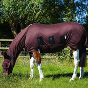 Snuggy Hoods Sweet Itch Horse & Pony Rug with full tummy coverage - Protects from biting insects, midges & UV