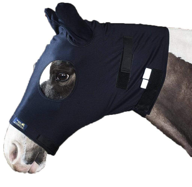 Snuggy Hoods Weatherproof Turn Out Head for Horse & Pony - Mud proof, wind proof and fully breathable