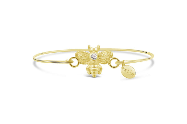 Pavé Icon Bracelet Bee
