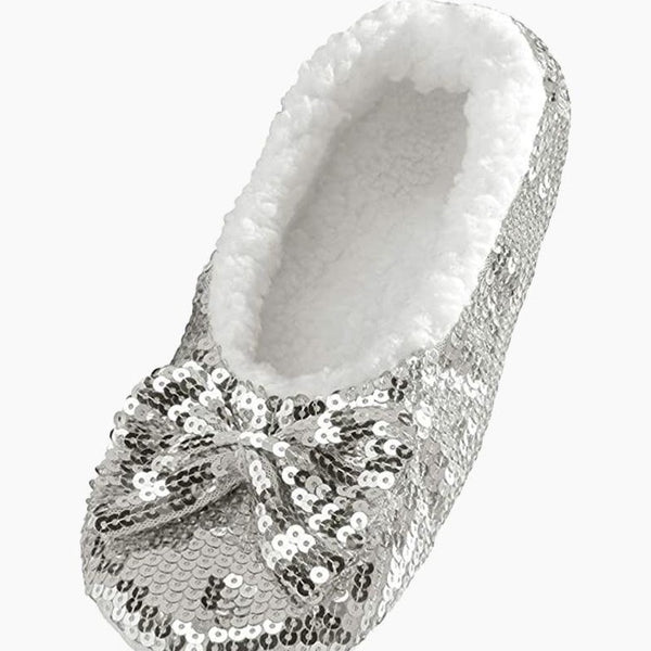 Women's Classic Bling Snoozies in Silver