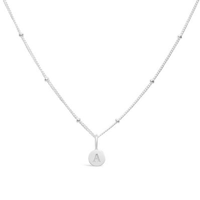 Mini Love Letter Necklace - (Select Letter)