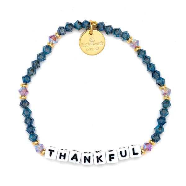 Thankful- Gratitude For Loved Ones Bracelet